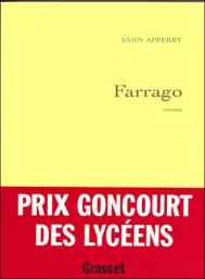 Farrago, de Yann Apperry (Prix Goncourt des lycéens 2003)